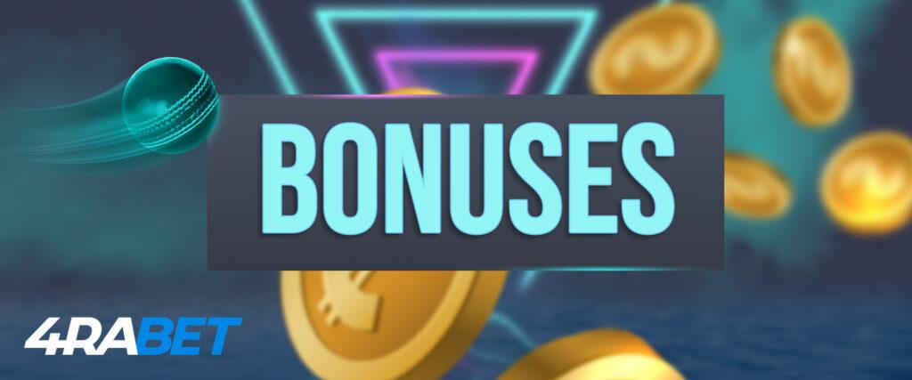 4rabet bonuses for India