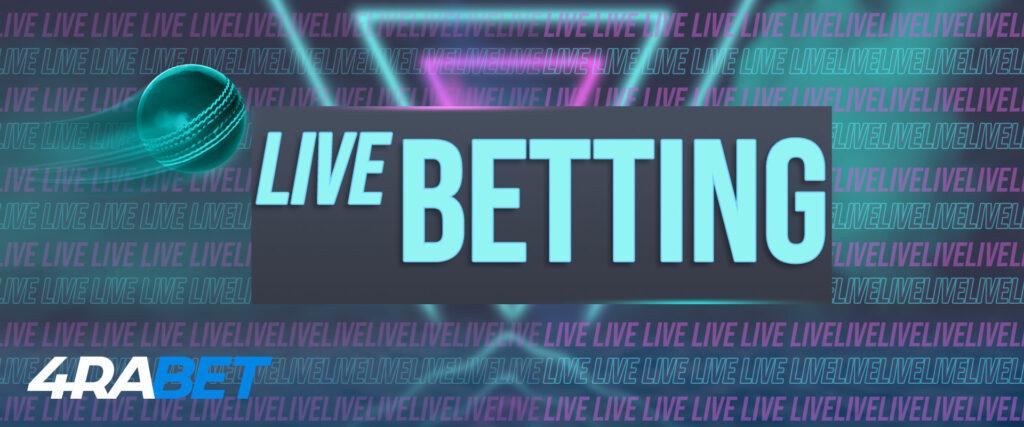 4rabet live betting